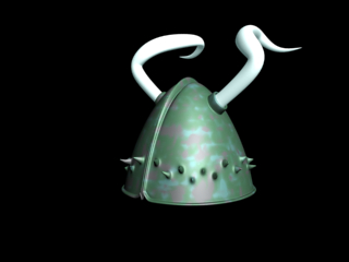 max plain viking helmet