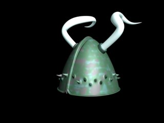max plain viking helmet