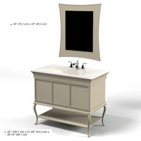 kohler  k-2457  2458  vellum bathroom furniture  set lavatory faucet sink mirror tap