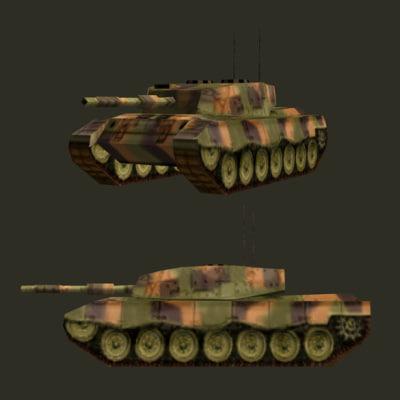 battle tank leopard 1a5 3ds