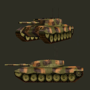battle tank leopard 1a5 3ds