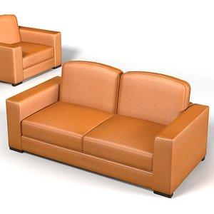 3d max mascheroni shibumi sofa