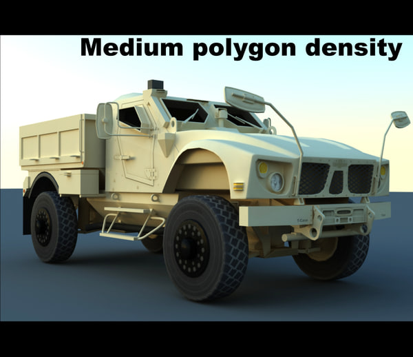 m-atv base utility vehicle 3d max