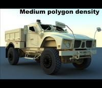 m-atv base utility vehicle 3d max