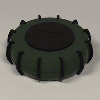 bomb 3d model