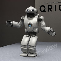 Robot Sony Qrio RIGGED