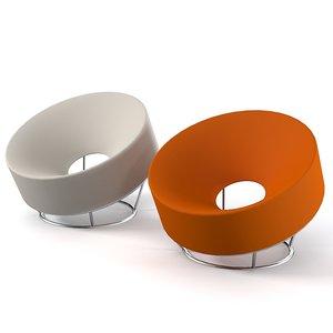 ferlea pop chair 3d max