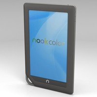 3d barnes noble nook color model
