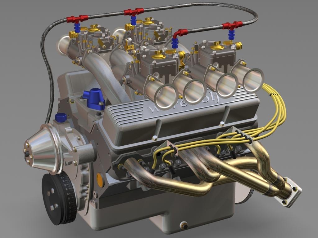 working engine quad max