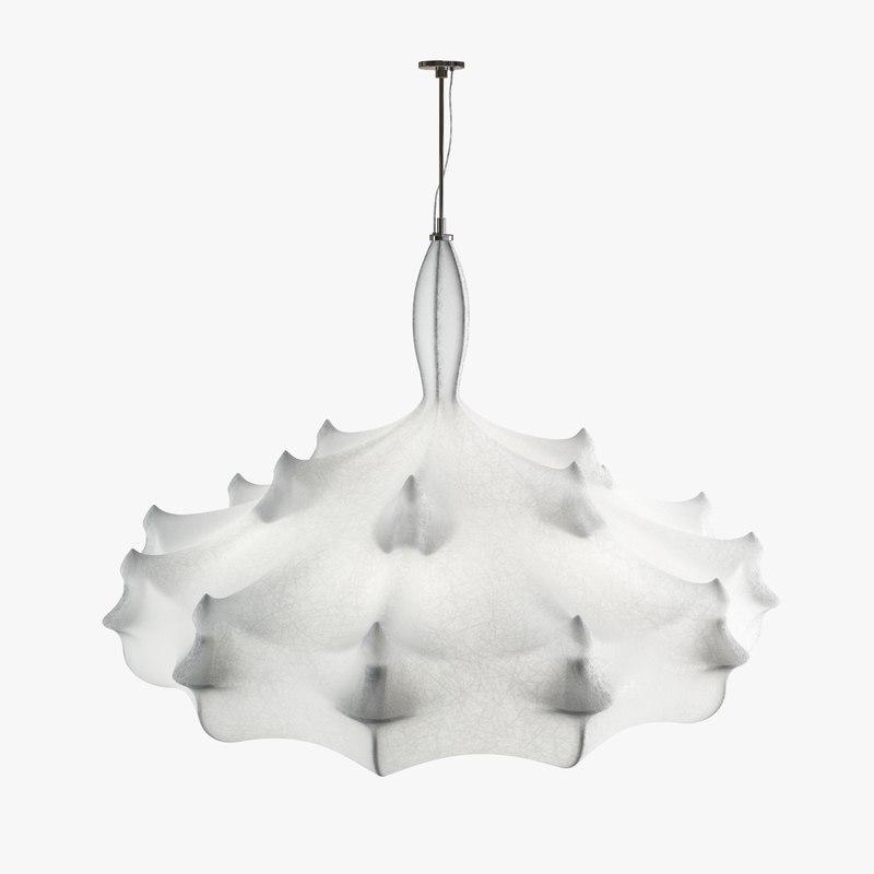 Flos Zeppelin Chandelier By Makula 3dsmax Marcel Wanders Lamp