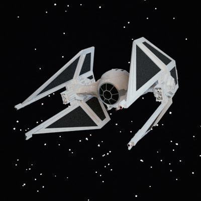 3d replica tie interceptor