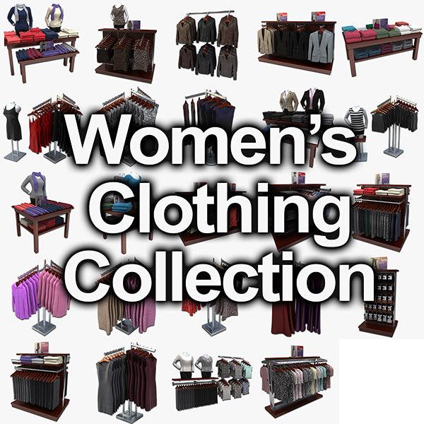 3dsmax womens clothing