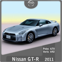 lightwave 2011 nissan gt-r