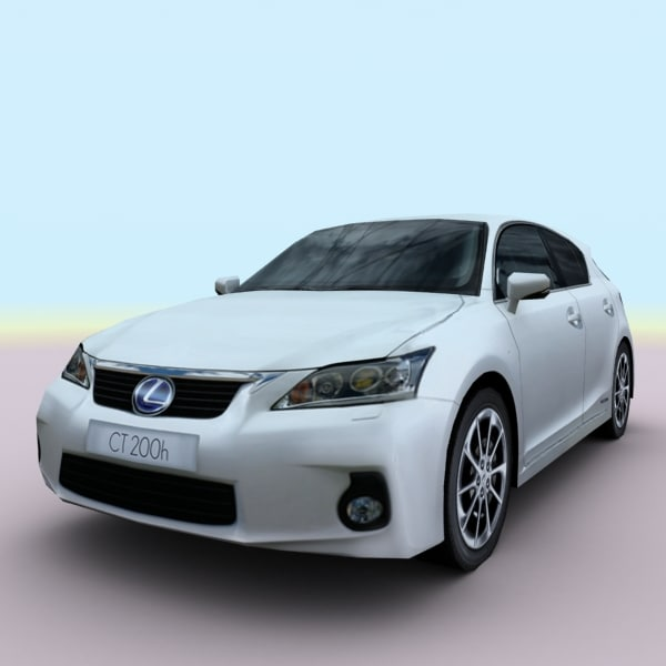 2011 Lexus Ct Suspension: 2011 Lexus Ct 200h 3d Obj