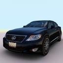 3d model 2010 lexus ls 460