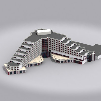 3dsmax building hotel 04