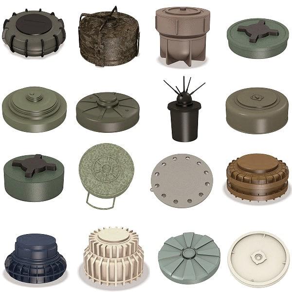 mines 3d model