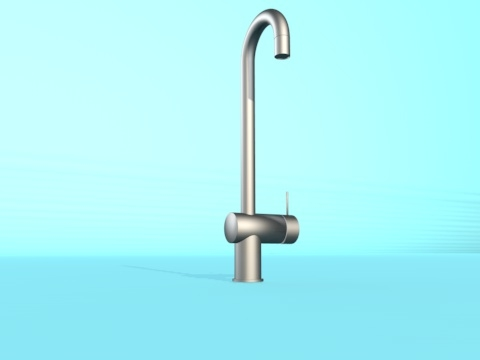 3d kitchen tap