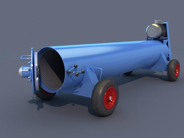 carpet dryer 3d model
