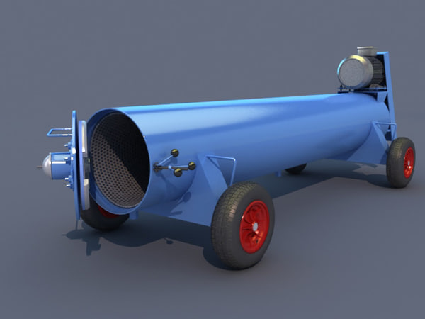carpet dryer 3d model