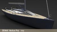 "47"" Cruiser Medium-Low Poly"