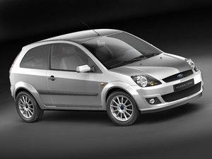 3d model of fiesta 2006