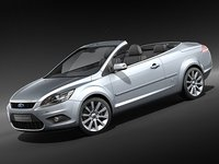 focus 2009 cc 3d model
