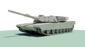 rigged abram tank max