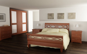 bedroom interior 01d 3d 3ds