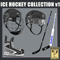 Ice Hockey Equipment V1