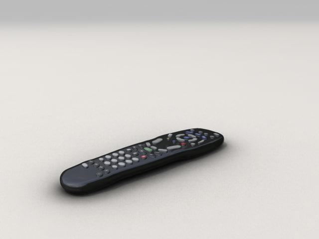 3d remote tv
