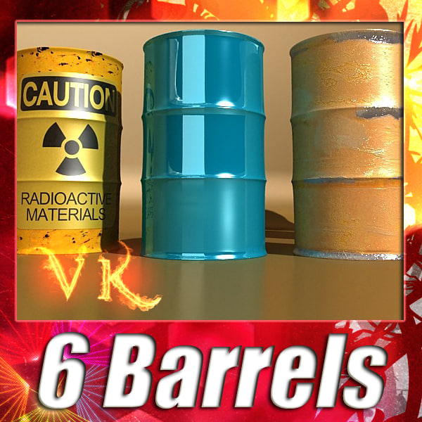 3d 6 barrels pallet resolution
