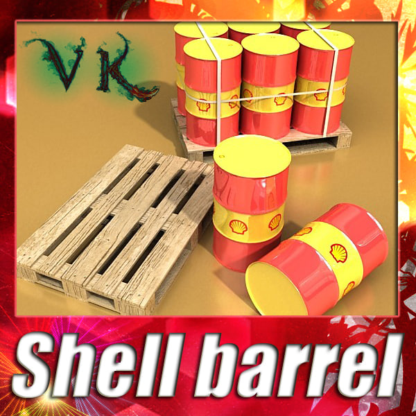 shell barrel 3d 3ds