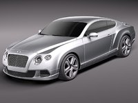 Bentley Continental GT 2012 midpoly