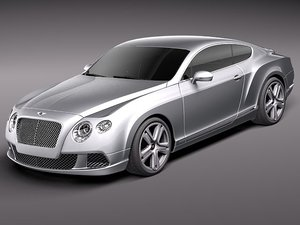 3ds bentley continental gt 2012