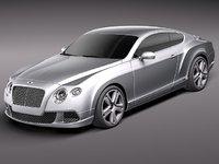 Bentley Continental GT 2012 midpoly