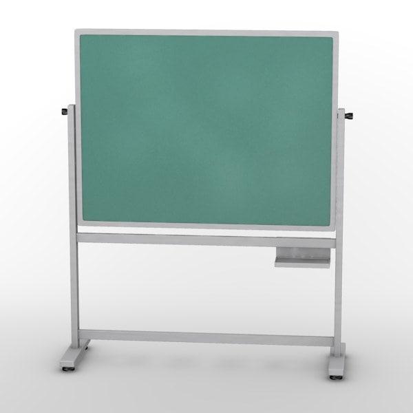 blackboard school 3d model