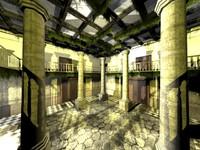 Courtyard/Lobby