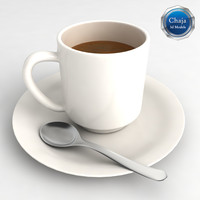 cup coffe coffee 3d model