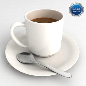 cup coffe coffee 3d model