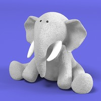 elephant plush toy 3ds
