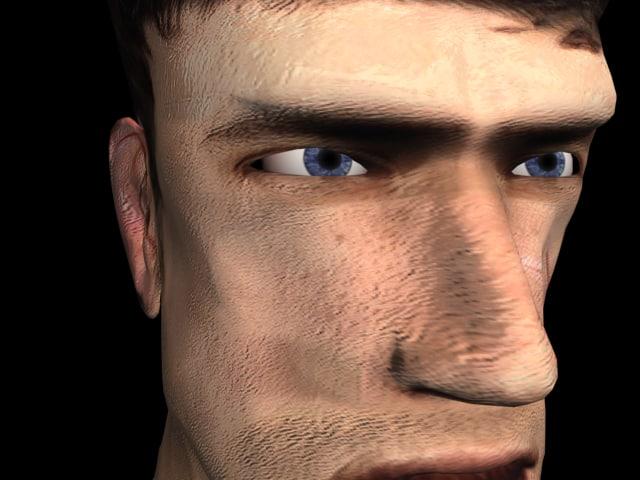 realistic head max