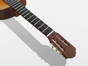 3dsmax classic guitar
