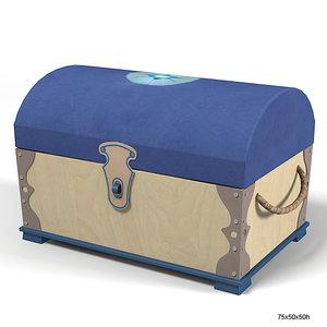 haba pirat trunk 3d model