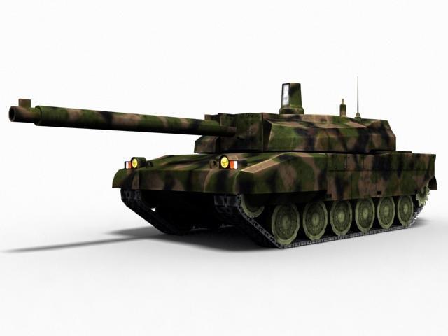 3ds max leclerc tank