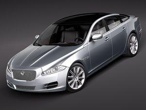 3d model xj 2011 sedan luxury