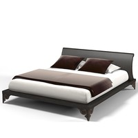 Luciano Zonta modern contemporary art deco bed