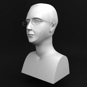 3d model bust