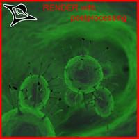 3d model of virus