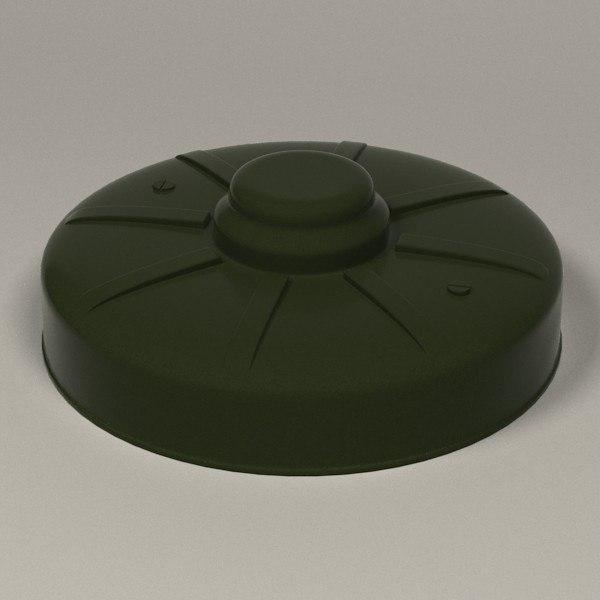 bomb 3d obj